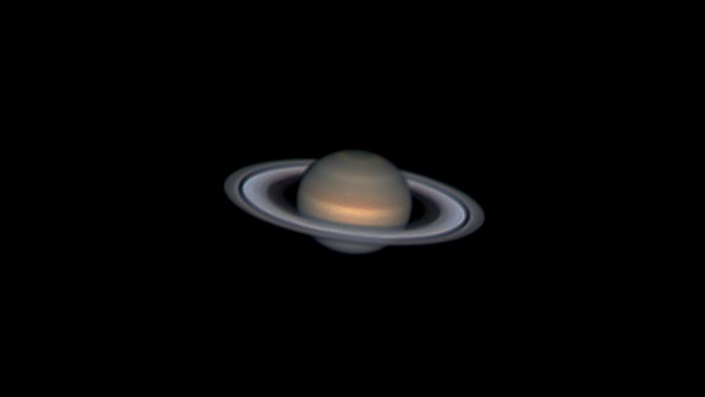 Saturne à minuit